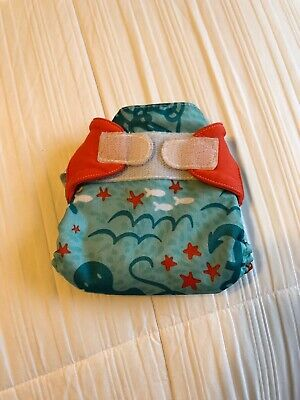 Bumgenius Cloth Diaper Limited Edition HTF Rare - Newborn NB XS Jules Nautical