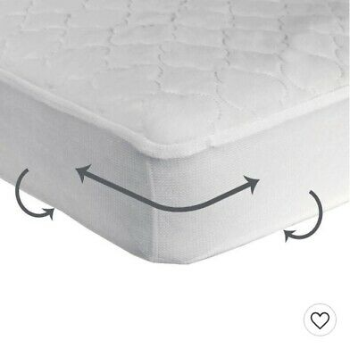 Sealy Cozy Dreams Waterproof Fitted Crib Toddler Mattress Pad New/Open Box