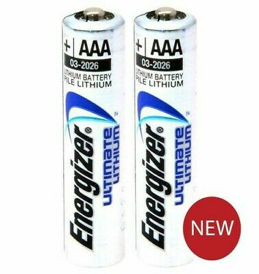 10 Energizer AAA Ultimate Lithium Batteries. NEW. 1st class postage.
