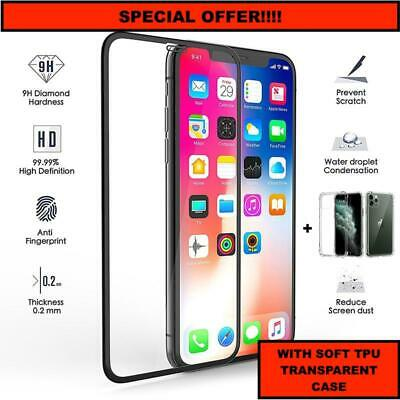 SCREEN PROTECTOR + SHOCKPROOF CASE For iPhone 11 XR Tempered Glass FULL COVER