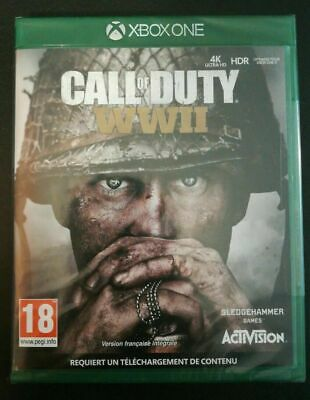 Call of Duty WW2 Xbox one -Neuf sous blister