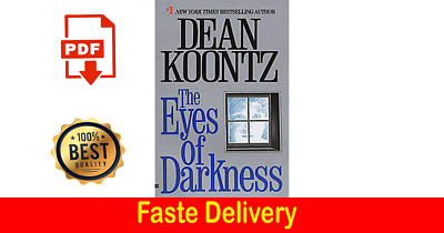 The Eyes Of Darkness By Dean Koontz [ P.D.F ] fast delivery? Digital