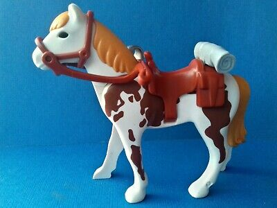 PLAYMOBIL @@ WESTERN @@ SELLE @@ CHEVALIER @@ INDIEN @@ CHEVAL @@ A 07