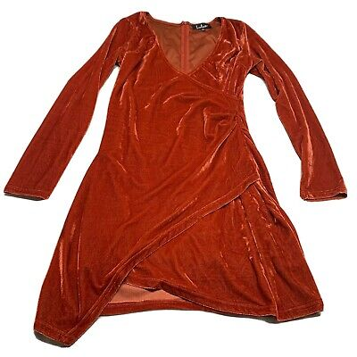 """For 18/"""" American Girl Doll Clothes Red Long Sleeve T-Shirt Ruffle Neck"""