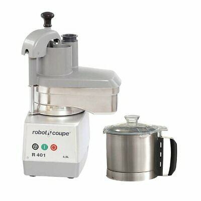 Robot Coupe Food Processor with Veg Prep Attachment 4.5ltr R401 (2427)