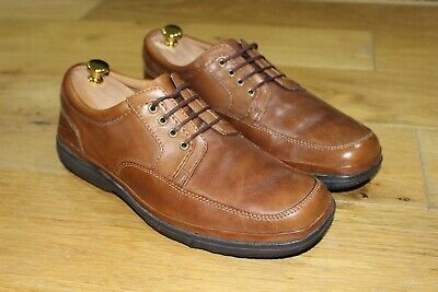 MENS CLARKS FLEXLIGHT Wide Fitting Lace Up Shoe 'Swift Mile