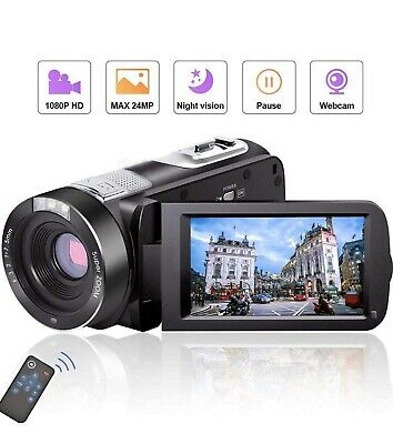 Videocamera Camcorder Full HD 1080P