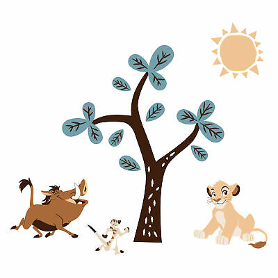 Disney Baby Lion King Adventure Wall Decals  by  Lambs & Ivy - Blue, Brown