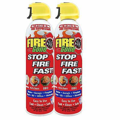Fire Extinguisher Home Kitchen Fire Gone Fast Easy Use Office Boat Car 16oz Safe