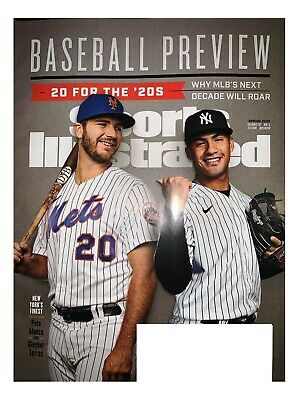 Sports Illustrated ~ BASEBALL PREVIEW WITH ALONSO & TORRES ON COVER ~ Spring2020