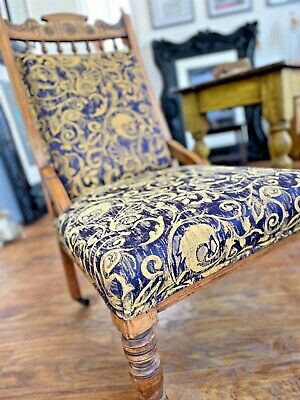 Edwardian Upholstered Chair....
