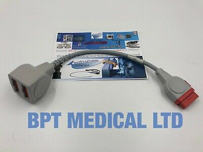 GE Invasive Pressure Cable IP Adapter Cable IBP 4th GE healthcare 2005772-001