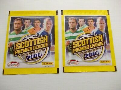 football stickers panini Scottish Premier League 2010 x 2 unopened packets