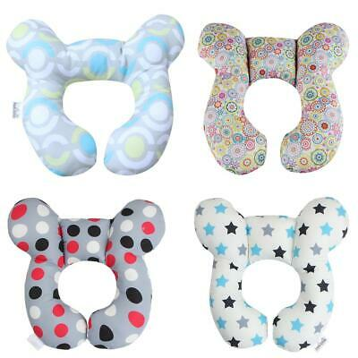 U-Shaped Head Fixed Pillow Baby Stroller Padding Cotton Kids Protection Mat /KT