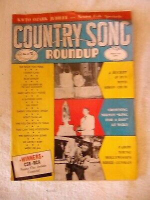 vintage Country Song Roundup magazine no 41 34 pages