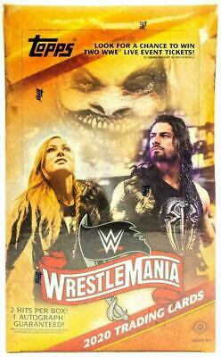 2020 Topps WWE Road To Wrestlemania Factory Sealed Hobby Box