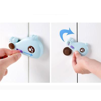 Kids Child Baby Pet Safety Lock Proof Door Cupboard Fridge Cabinet Drawer IT