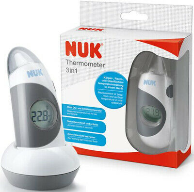Nuk 2in1 Infrarouge Stirnthermomter Ohrthermomter Thermomètre Thermomètre
