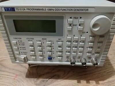 TTI Thurlby Thandar TG1010A Programmable 10MHz DDS Function Generator - Tested