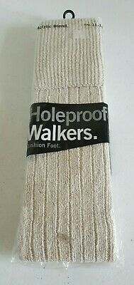 Holeproof Vintage Mens Acrylic Blend Walkers Cushion Foot Socks Size 11-14