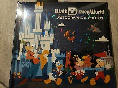 NEW Walt Disney World Park Life Official Autograph and Photo Book With Pen