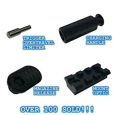 Ruger PC Carbine Upgrade Extended Charging Bolt Handle Mag Release Optic Mount