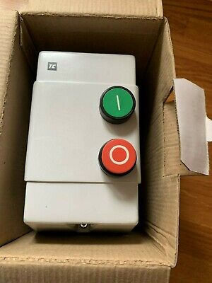 SECTOR 795502 11kw 25A 415V DOL Starter 2 Button Moulded ABS Enclosure IP65