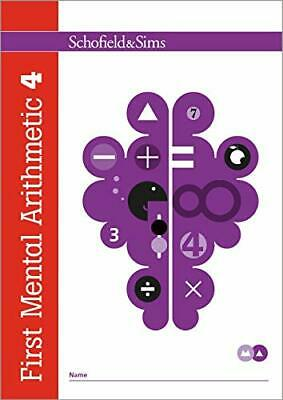 First Mental Arithmetic Book 4: Year 2 Ag by Schofield & Sims New Paperback Book