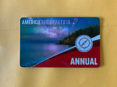 AMERICA THE BEAUTIFUL US National Parks Annual Pass (Exp 05/31/2020)