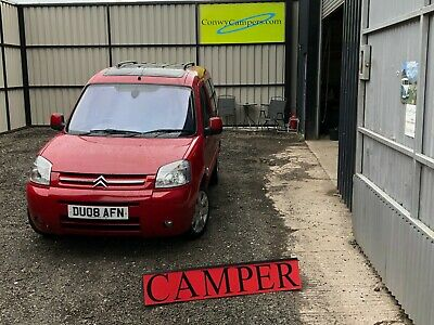 1600cc Diesel Citroen Berlingo Multispace Micro Camper Campervan no Swap px