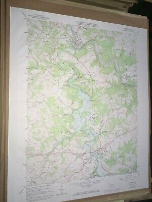 Saltsburg PA Indiana County USGS Topographical Geological Quadrangle Topo Map
