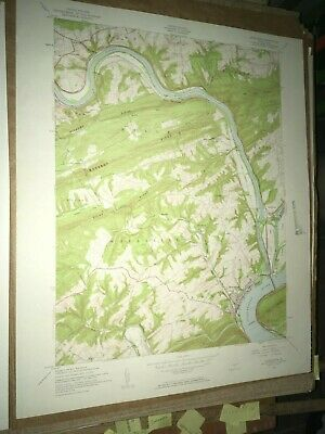Duncannon PA Perry Co Old USGS Topographical Geological Survey Quadrangle Map