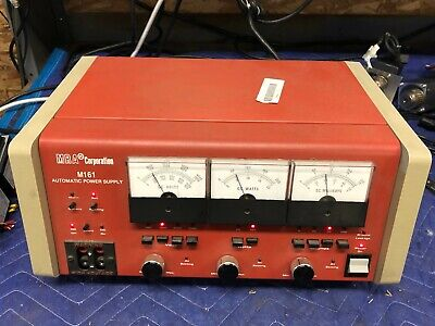 MRA Corporation M161 Automatic Power Supply