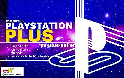 Ps Plus 12 Months, Playstation Plus 12 Months (No Code-RAPID DELIVERY-BestPrice)