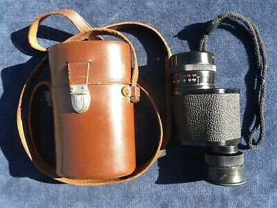 Zeiss Monocular 8X30B #593388 & Leather Case #207812 Fresh Zeiss Rubber Eye Cup