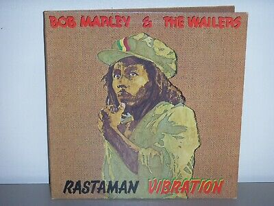 Bob Marley & The Wailers Rastsman Vibration Vinyl Lp Record Album (1976)