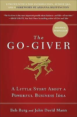 The Go-Giver: A Little Story about a Powerful Business Idea (1591848288)