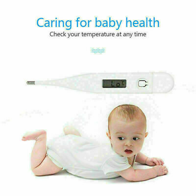Medical Digital Thermometer Body Temperature Indicator Fever Alarm Baby & Adult