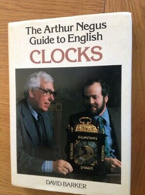 Arthur Negus Guide To English Clocks, 192 Page Hardback Book