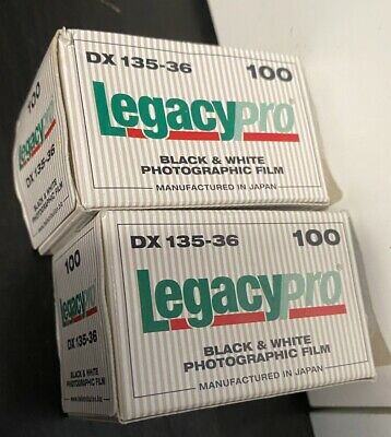 NEW Legacy PRO 100 B&W Negative 35mm 36 Exposure Roll Fujifilm ACROS Exp. 01/11
