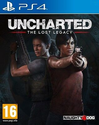 Uncharted The Lost Legacy Playstation 4 NEW Sealed