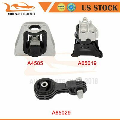 2PC AUTO TRANSMISSION MOUNTS FOR 2003-2005 SEDAN HONDA CIVIC HYBRID 1.3L