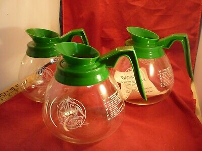 3 Commercial Coffee Pots Decanters REPLACEMENTS CARAFE FOR BUNN GERMANY  LOT E