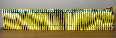 Complete Set of 56 Nancy Drew Flashlight Mystery Series & Sleuth Book Hardcover