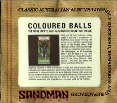 Coloured Balls Lobby Loyde - First Supper Last - Jewel Case - Australian Rock