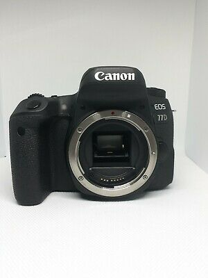 Canon EOS 77D DSLR Camera (Body Only) + 2 extra batteries. Excellent Condition!