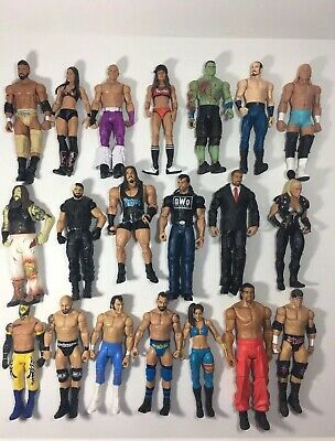 Mattel WWE, Wrestling Action Figures ( without packaging )