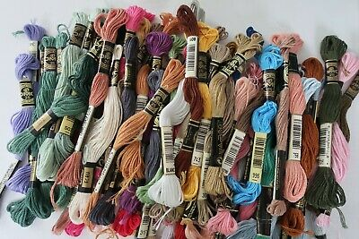 DMC STRANDED EMBROIDERY THREADS - choose your colour