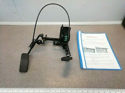 Peugeot 206 DISABLED Mobility Cowal Twin Flip Up LEFT FOOT Accelerator Pedals