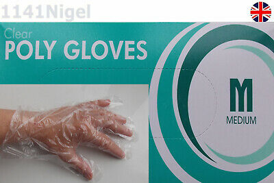Clear Poly Gloves    Please Choose Quantity From Drop Down Menu
